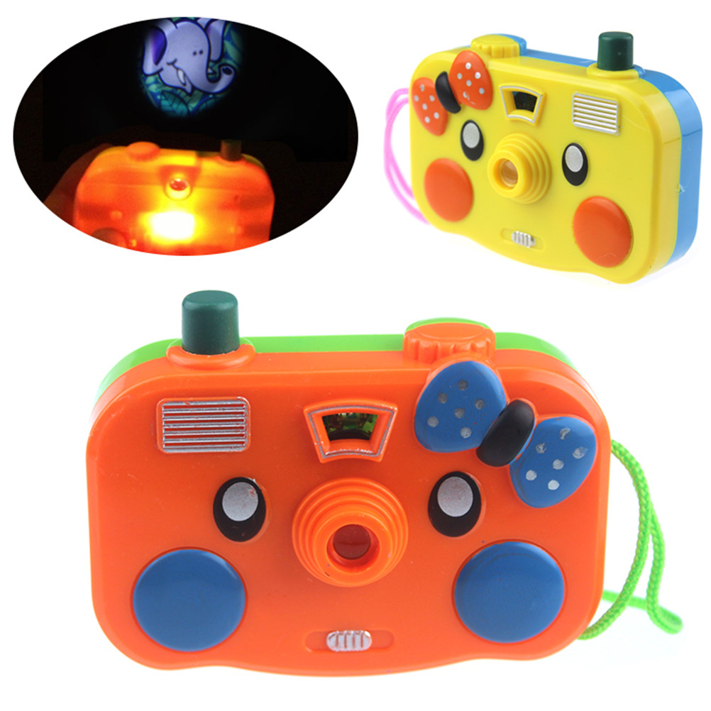 Projection Simulation Kids Digital Camera Toy Take Photo Animal Children Educational Plastic Birthday Gift For Baby Camera Toy