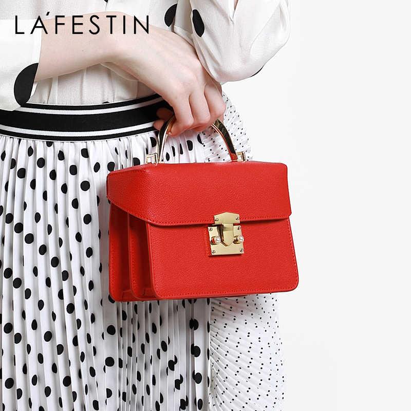 708f74a3e90b LA FESTIN fashion portable small bag wild leather woman's bag new ...