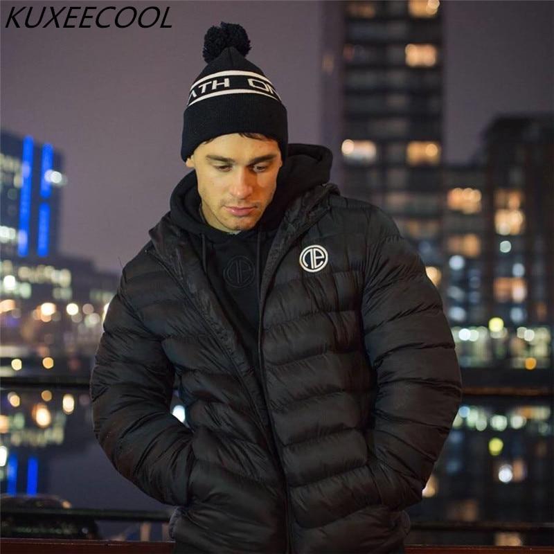 2018 winter New Men warm Hoodie Sweatshirt Zipper Hooded jacket Gyms Fitness sportswear Casual fashion top coat Brand clothing