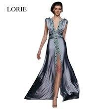 Vestido longo dubai kaftan elegant long formal dress arabic women evening gowns a line v neck rhinestone prom dresses 2016