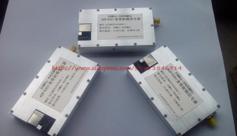 Signal Generator Frequency Generator Signal Source Frequency Source RF Signal Source ADF4351BCPZ