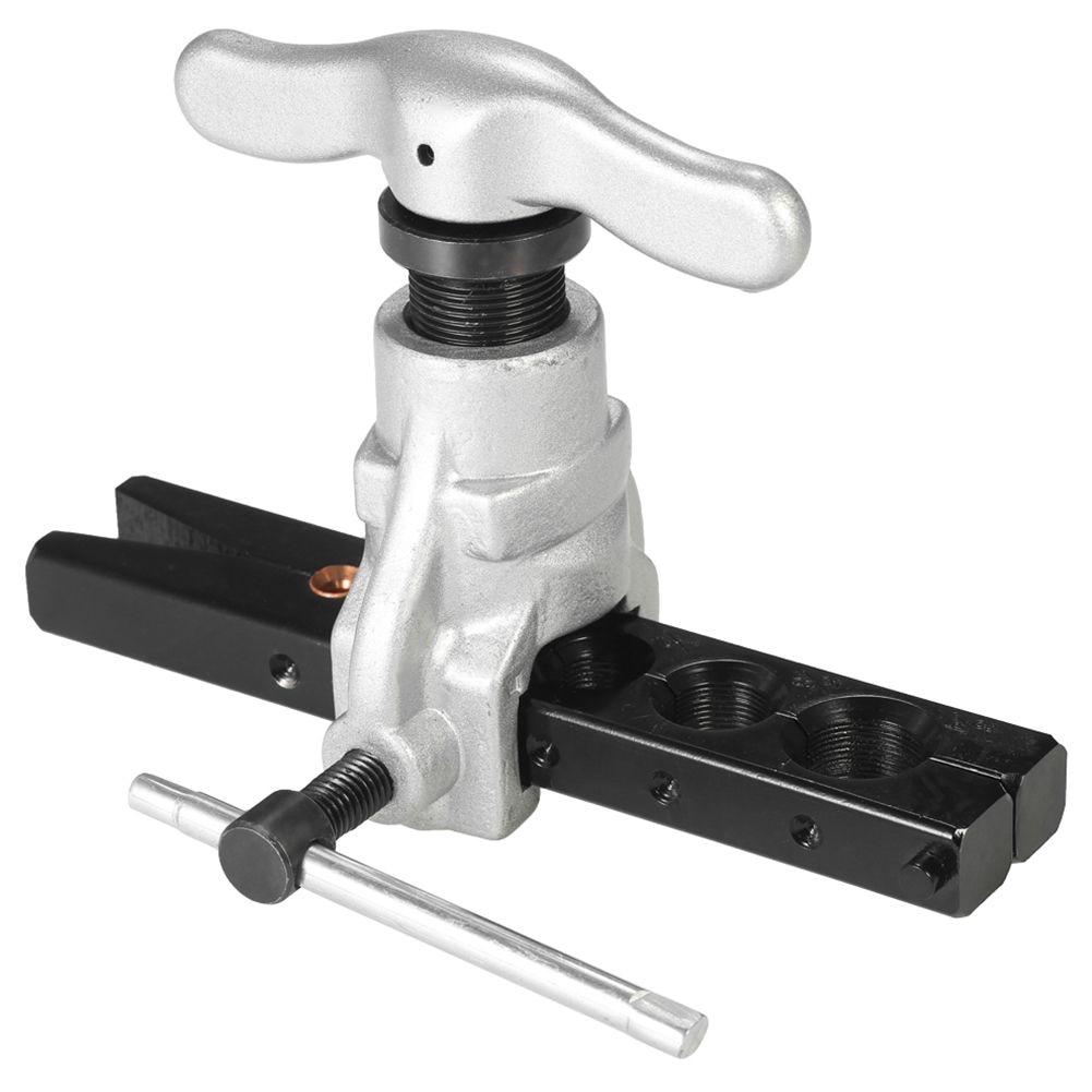 цена на Hot Eccentric Flaring Tool Set Water Gas Brake Line Application Tubing inch 45 Degree Angle Eccentric Cone Type Flaring Tool