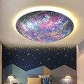 Креативная Светодиодная потолочная лампа с рисунком планеты для мальчиков и девочек  детская лампа для спальни  Современная индивидуальна...