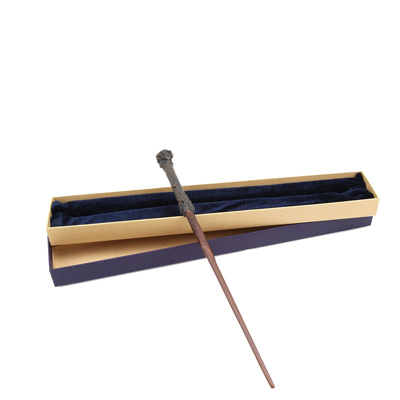 Metal Core Harri Potter Magic Wand Dumbledore Hermione Magical Wand /Harri Potter Stick/ High Quality Gift Box Packing цены онлайн
