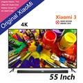 New Original Xiaomi TV 3 55 Inches RGB 4K 3840*2160 Ultra Thin HD Quad Core 2GB Ram 8GB Rom Bluetooth 4.1 Household Smart  TV