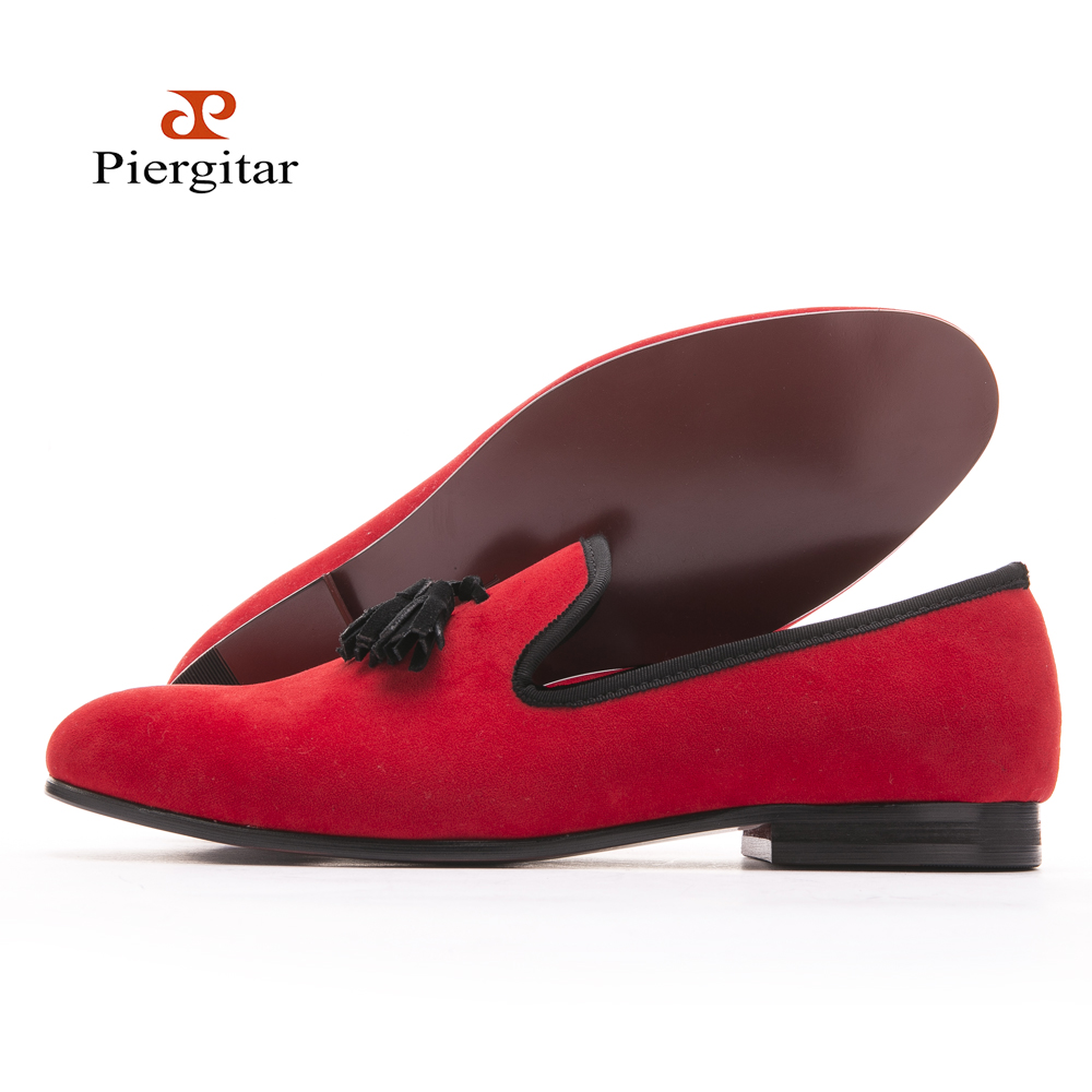 Velvet Slipper Shoes Men