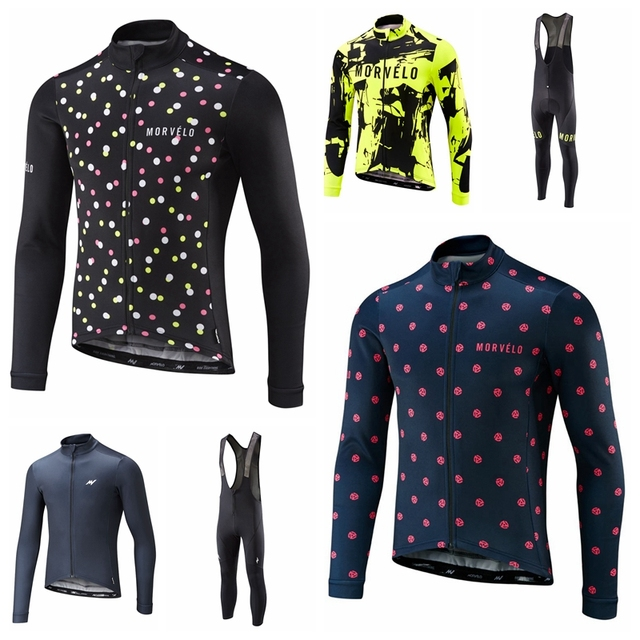 dee4db045 Best Offers 2018 Morvelo ropa ciclismo Spring cycling Jersey long Autumn  Road bike Bicycle clothing Full