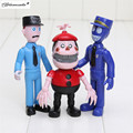 Yamala 12 Unids/set 5-11.5 cm figura de Cinco Noches En Freddy FNAF Chica Bonnie Foxy Freddy Fazbear Oso Doll PVC Figuras de Acción de Juguete
