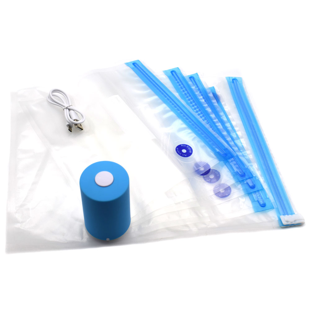 Fresh-Seal-Vac-Mini-Vacuum-Sealer-Machine-for-Food-Preservation-with-4-Vacuum-Storage-Bags-USB (1)