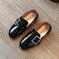 Мальчики обувь 2017 Новая Мода Дети Повседневная Обувь Девушки Кожа непромокаемую обувь 3 цвета ПУ Твердых девочка обувь туфли-Дети E