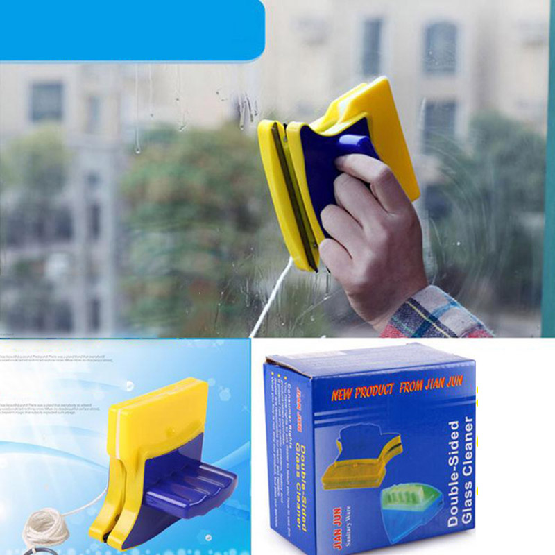Double Sides Magnetic Window Cleaning Brush High Efficiency Windows Surface Gl Cleaner Washing Wiper Household Tools