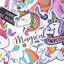 Cute Cartoon Unicorn Stickers Set