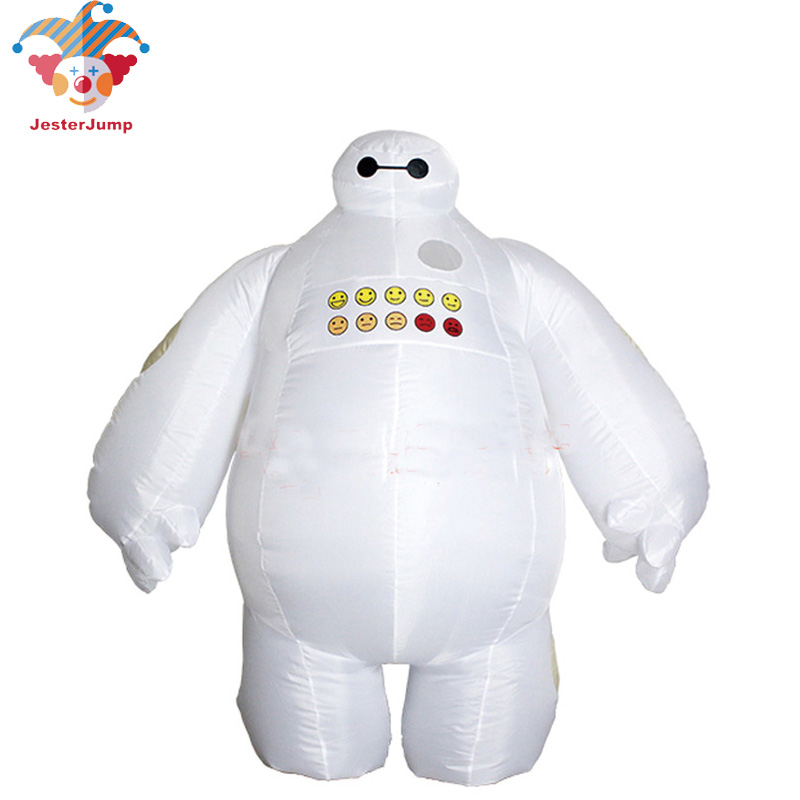 Halloween Inflatable costume Big Hero 6 Baymax Purim Party Cosplay costume for men women adult baymax