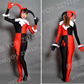 High Quality Custom Made Harley Quinn Cosplay Costume Harley Quinn Spandex Suit