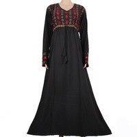 New Plus Size Muslim Abaya Kaftan For Women Islamic Pakistan Traditional Clothing Maxi Islamic Abaya Long