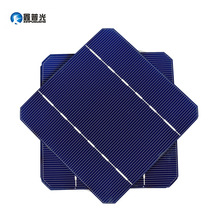 XINPUGUANG 100PCS Efficient Solar Cell 280w Solar Panel DIY Kit Mono Cell PV Photovoltaic 125*125mm 2.8w Monocrystalline Silicon xinpuguang 600w solar system kit 6 100w solar panel monocrystalline silicon cell photovoltaic module home roof power generation