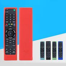 Funda de silicona a prueba de golpes para mando a distancia, funda lavable para Sony RMF TX200C 210 211, mando de voz para TV