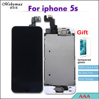 100 Work Perfect AAA LCD Full Assembly For IPhone 5s Touch Screen Digitizer Display Set Home
