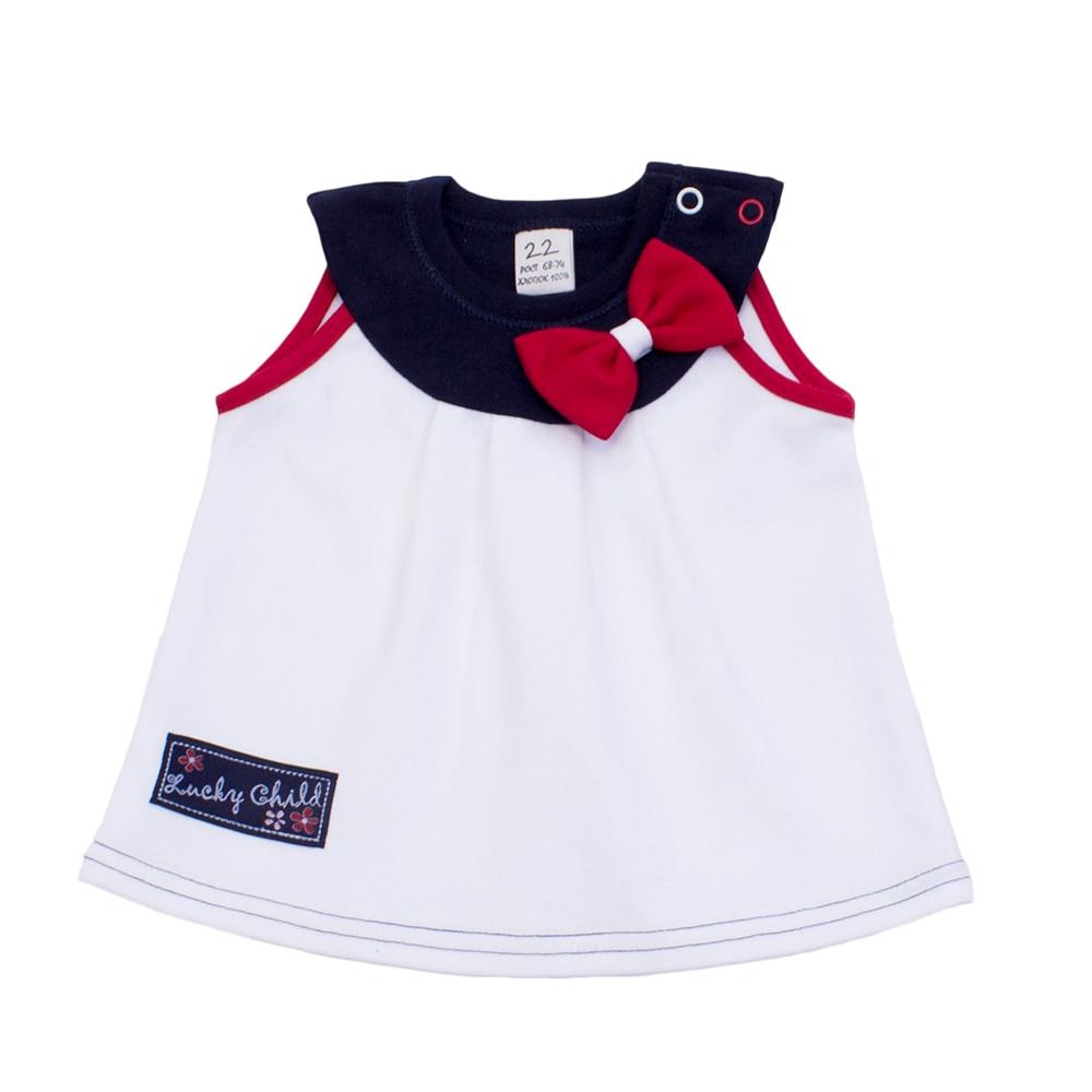 Tanks & Camisoles Lucky Child for girls 18-25 (24M-3T) Underwear Kids Baby T shirt Children clothes 6 24m baby autumn