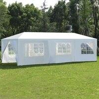 10 'X 30' açık gölgelik çadır yan duvarları ile veranda Gazebos çadır OP3595|Kamelyalar|   -