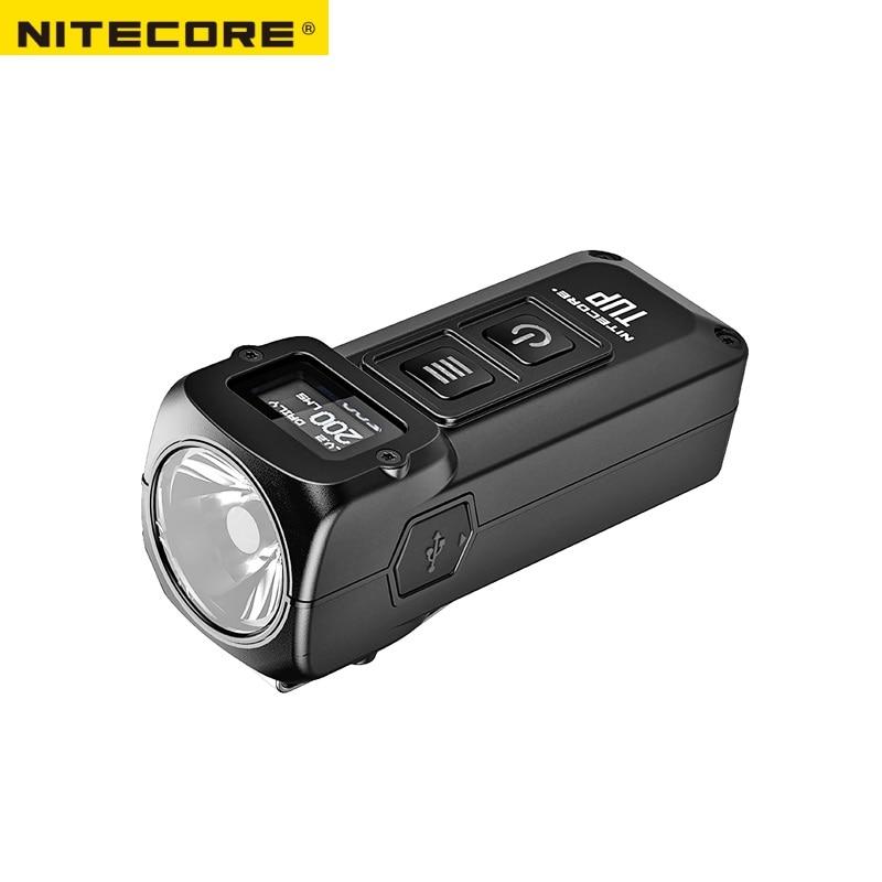 1 pc best price NITECORE TUP rechargeable USB MINI flashlight CREE XP-L HD V6 max 1000 LM beam distance 180M revolutionary intel
