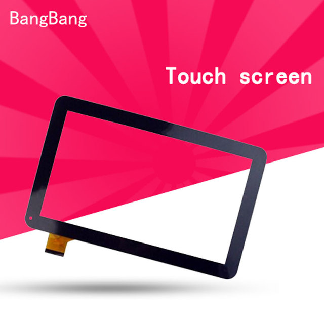 10.1 inch Black Touch Screen panel with Digitizer For Digma Optima D10.4 3G Tablet LCDs & Panels