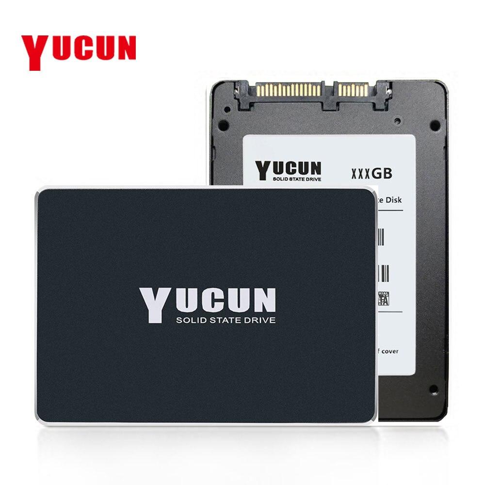 YUCUN 2.5 pouce SATAIII SSD 60 gb 120 gb 240 gb 480 gb Interne Solid State Drive 64 gb 128 gb 250 gb 500 gb Disque Dur