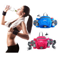 AONIJIE Multifunction Nylon Sport Waist Bag Outdoor Running Hiking Bicycle Big Storage Money Pouch Fanny Pack