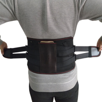 Medical Back Brace Waist Belt Metal Spine Support Men Women Belts Breathable Lumbar Corset Orthopedic Device Back Brace Supports