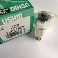 Ushio JCR 120V150WB halogen lamp stippled reflector dental fiber optic light source
