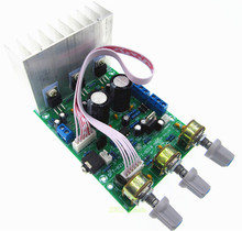 new TDA2030A 2.1 3 audio encoding finished products subwoofer amplifier board tda2030 bass knob