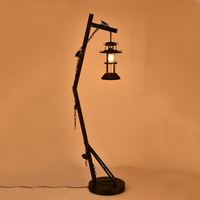 Floor Lamps retro industrial wind creative diffuse coffee bar store living room bedroom iron personality LU720161