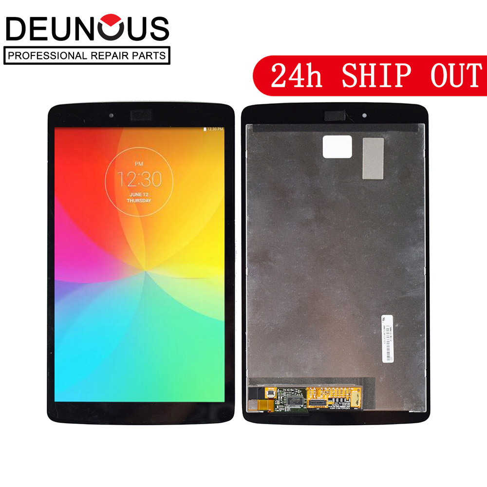 New For LG G Pad II 8.0 LG V498 V495 LCD Display + Touch Digitizer Screen Glass Assembly For LG G Pad II V498 V495 Display