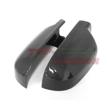 For For Audi A5 S5 RS5 Carbon Fiber Mirror Cover Rear View 2010 2011 2012 2013 2014 2015 2016 Replacement Style