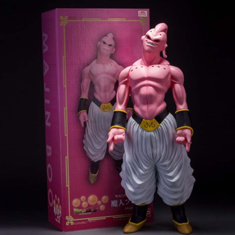 1Pcs 48cm Dragon Ball Z Super Big Majin Buu PVC Action Figure Collectible Model Toy Boxed Great Gift Free Shipping
