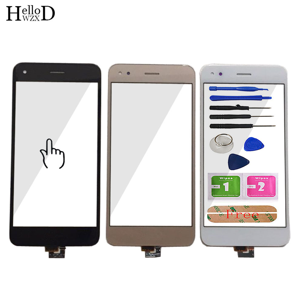 5'' Touch Glass TouchScreen For HuaWei P9 Lite Mini Touch Screen Glass For Huawei Y6 Pro 2017 Digitizer Panel Lens Sensor Tools