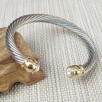 New Arrival Top Fashion Trendy Sterling Jewelry Brand Jewelry   Bracelets     Bangles   Satellite Crystal   Bracelet   For Women