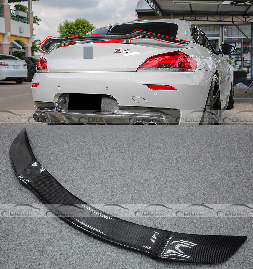 Tt Style Carbon Fiber Rear Spoiler For 2015 2019: Z4 E89 Rowen Style High Quality Universal Carbon Fiber