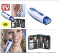 2016 Hot As Seen ON TV Wizzit hair remover set High Quality electric epilator + makeup tools + storage bag lady Women suit TV
