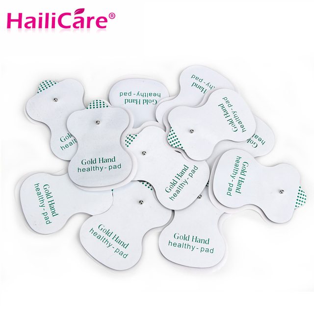 Electrode Pads for Tens Acupuncture Therapy Pad for Slimming Electric Body Machine Massager Adhensive Gel Pad Health Care