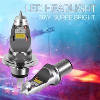 Ray soul ba20d HS1 H4 motorcycle LED headlight DC 12v 36W 4000lm lamp bulb for all moto Strong light