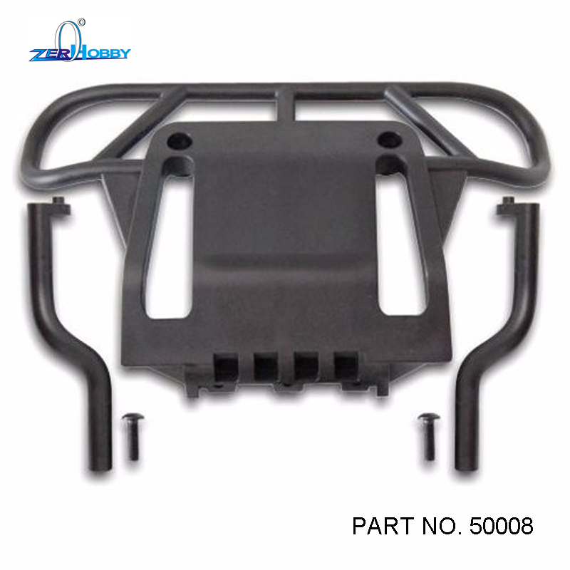 HSP Racing 50008 Front Rear Bumper For Gas 1/5 Rc Car Skeleton Monster Truck Spare Parts REDCAT (Part No. 50008) 2pcs rc car 1 10 hsp 06053 rear lower suspension arm 2p for 1 10 4wd rc car hsp 94155 94166 94177