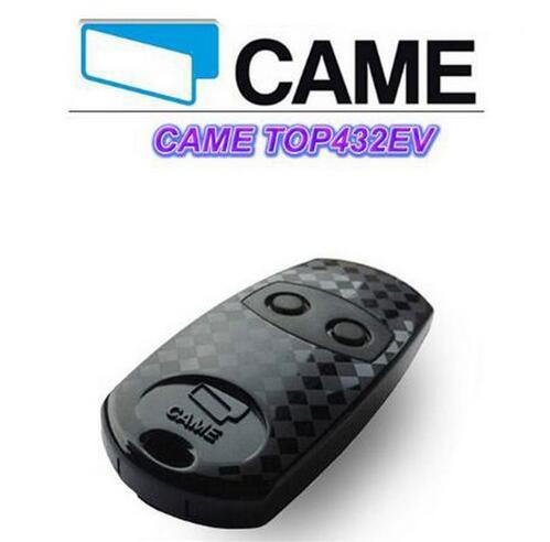 100pcs FOR CAME TOP 432EV garage door Cloning Remote Control transmitter duplicator DHL free shipping