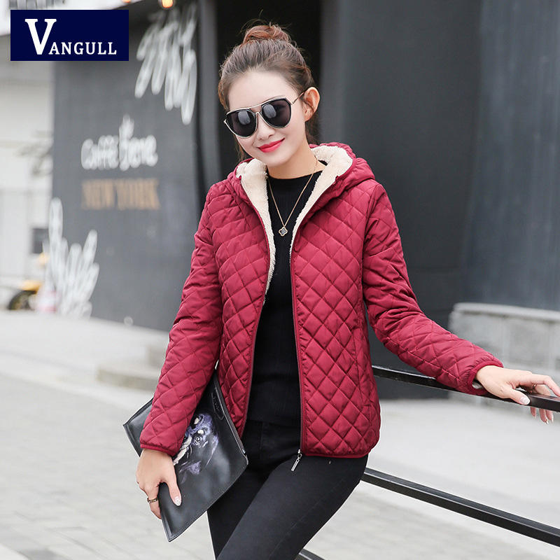 2018 new winter woman lady sweet new year soft casual solid multicolor all match fashion light warm coat outwear parkas woman ...
