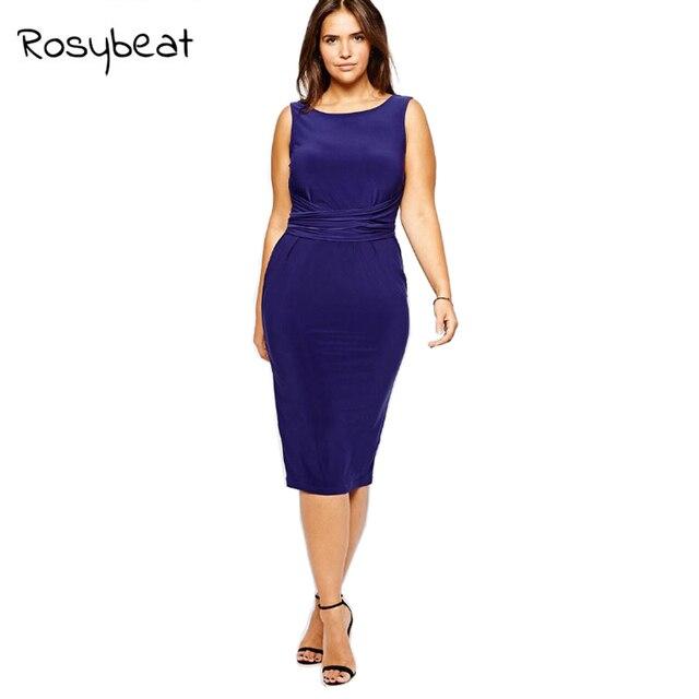f49549bcb10 Sexy Women Dresses 6XL Full Figure Summer 5XL Dress Large Size Female  Clothing 4XL Plus Size Women's Sleeveless Clothes 3XL