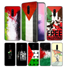 Palestine Flag Soft Black Silicone Case Cover for OnePlus 6 6T 7 Pro 5G Ultra-thin TPU Phone Back Protective