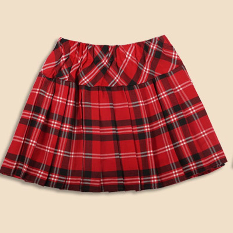 Short Plaid Skirt