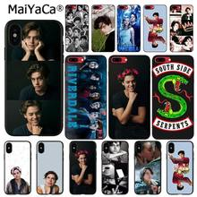 MaiYaCa American TV Riverdale Series Cole Sprouse Phone Case For iphone 11 Pro 11Pro Max X XS MAX 6 6S 7 7plus 8 8Plus 5 5S XR(China)
