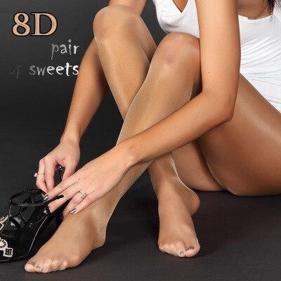 cceb205b3 Nova linha de gancho brilhante brilhante meias de algodão meias Leggings  Sexy lingerie de alta qualidade FX1013