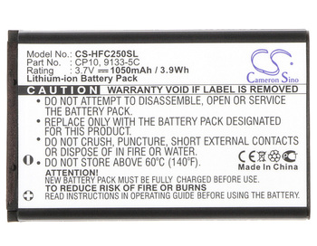 Cameron Sino High Quality Battery for Olympia Caro Rot,Chic,Chic 2,CHIC2122ROT, For Swissvoice BAT-C120,BBM320, MP03, MP22, MP33 image